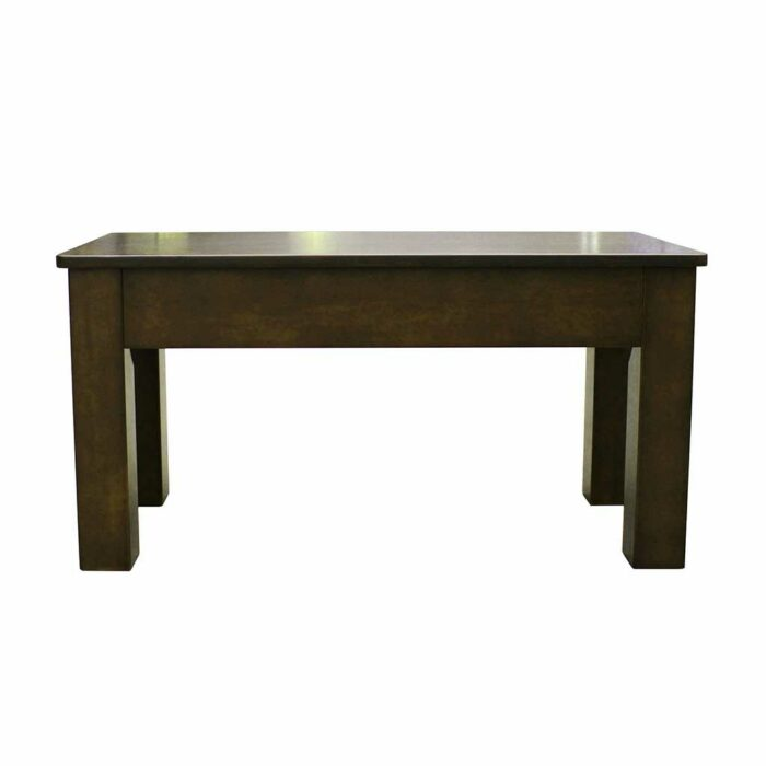 charcoal pool table bench 36 inch